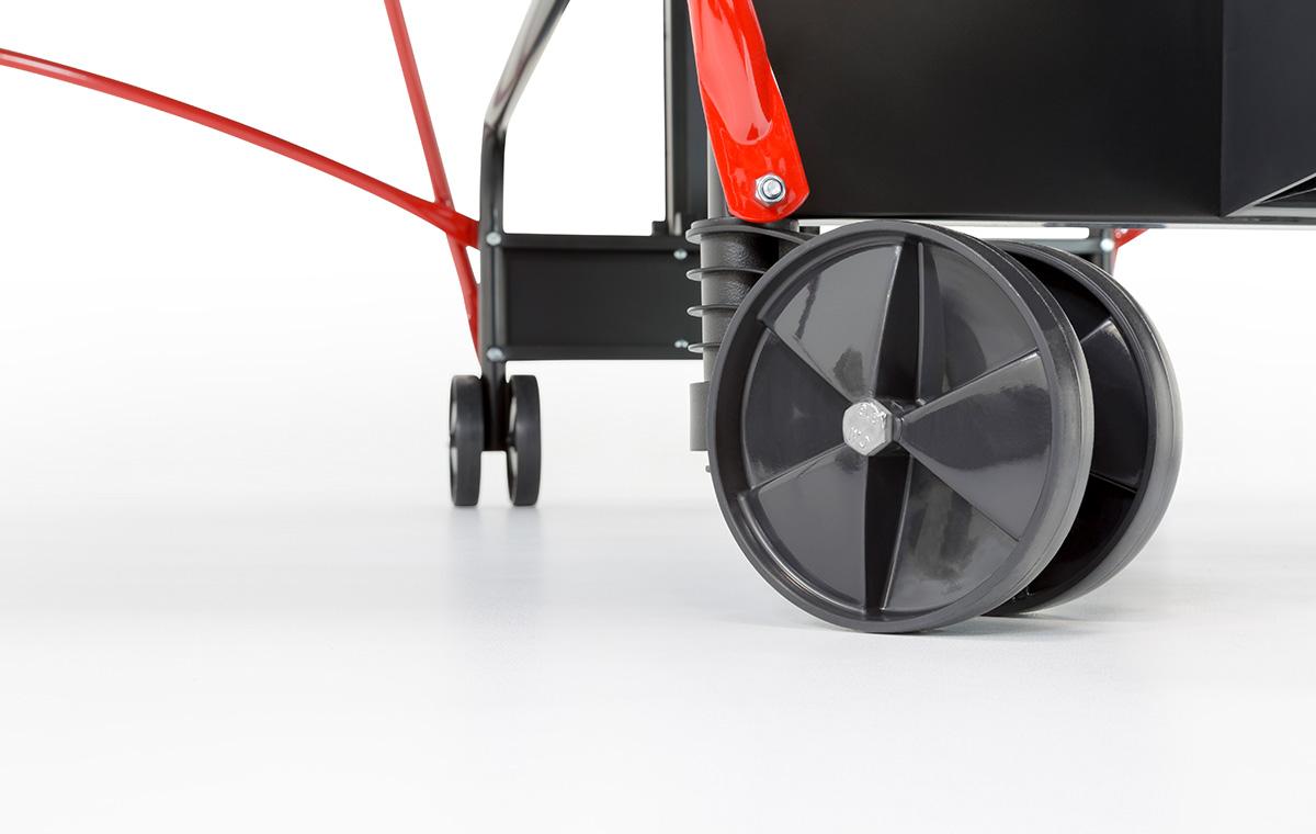 S 2-73 i Wheels/Feet